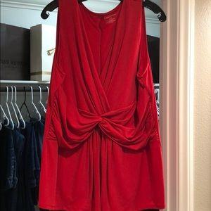 Lane Bryant sleeveless blouse